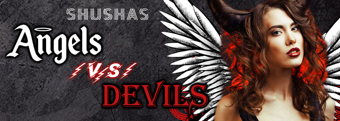 СУББОТА: ANGELS VS DEVILS в SHUSHAS на Новом Арбате!