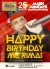 ПОНЕДЕЛЬНИК: HAPPY BIRTHDAY MC RIMAS! Mash Mondays в Shishas Sferum Bar!