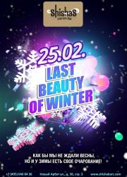 СУББОТА: Last beauty of winter в Shishas Sferum Bar и Shishas Karaoke Bar! Как бы мы не ждали весны, но и у зимы есть свое очарование!